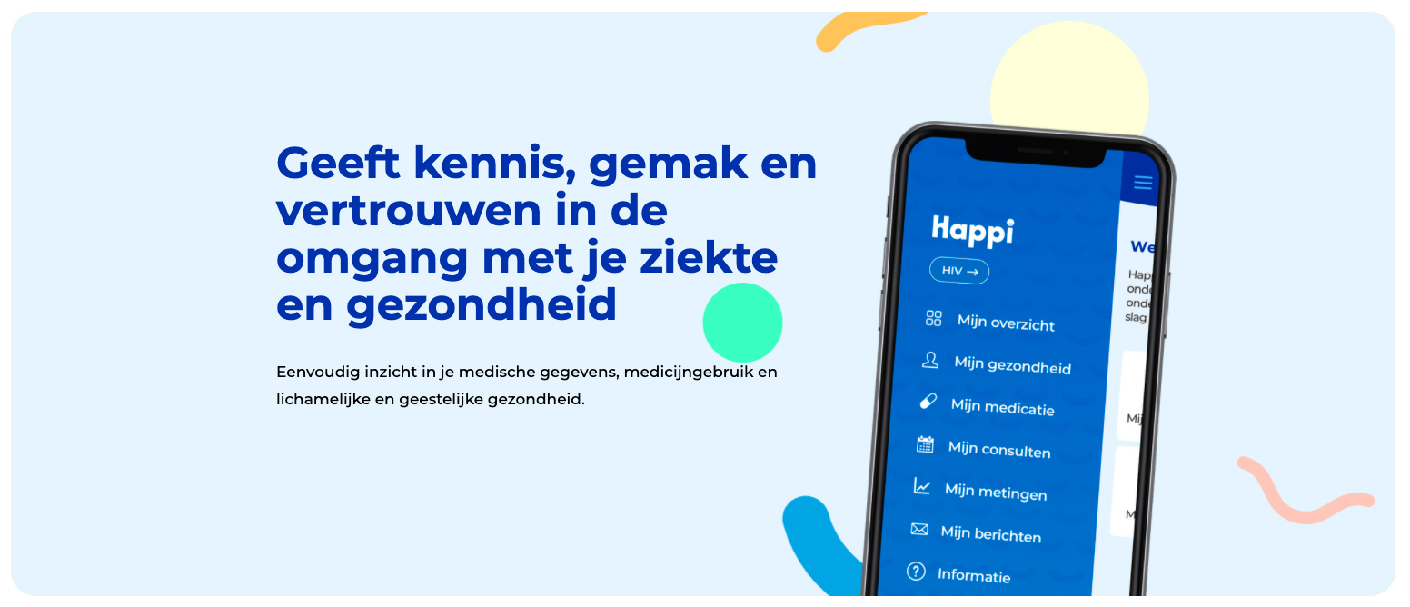 Happi app gives patients greater control over their illness