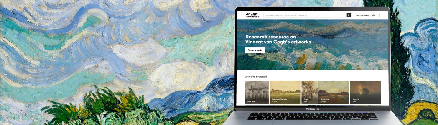 Van Gogh Worldwide: Data van ruim 1000 kunstwerken op één platform